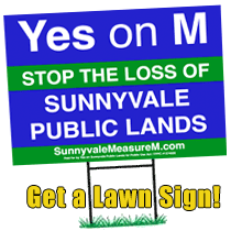 Yes On M Lawn Sign Posts